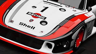 Photograph - Porsche 935/78 - 14 by Andrea Mazzocchetti