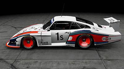 Photograph - Porsche 935/78 - 15 by Andrea Mazzocchetti