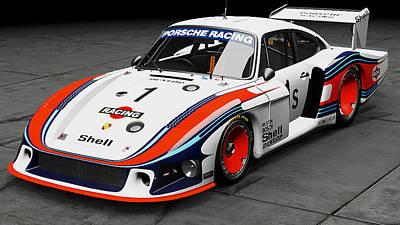 Photograph - Porsche 935/78 - 16 by Andrea Mazzocchetti