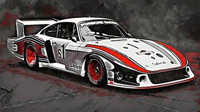 Photograph - Porsche 935/78 - 18 by Andrea Mazzocchetti