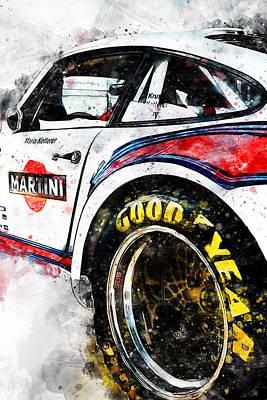 Painting - Porsche 935-80 - 59 by Andrea Mazzocchetti
