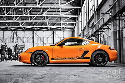 Photograph - Porsche Cayman S  by Tim Gainey