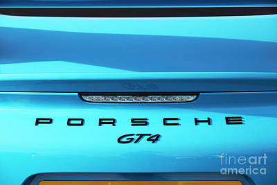 Photograph - Porsche Gt4 by Tim Gainey