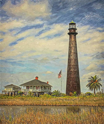 Advertising Archives - Port Bolivar Lighthouse Painted by Judy Vincent