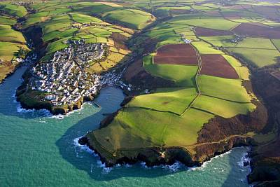 Photograph - Port Isaac From Above by Andrew Turner