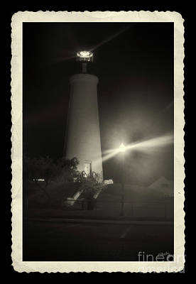 Photograph - Port Isabel Lighthouse In Sepia    by Imagery by Charly