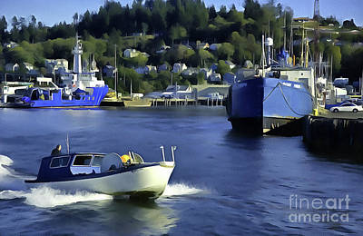 Photograph - Port Of Astoria Oregon by Susan Parish