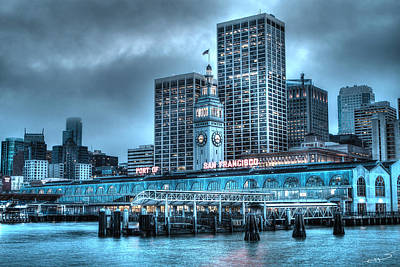 Photograph - Port Of San Francisco by SC Heffner