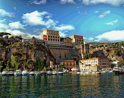 Photograph - Port Of Sorrento by Anthony Dezenzio