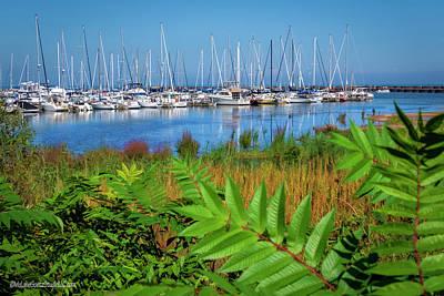 Photograph -  Port Sanilac Harbor by LeeAnn McLaneGoetz McLaneGoetzStudioLLCcom