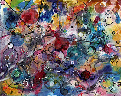 Drawing - Portals by Regina Valluzzi