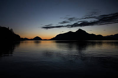 Photograph - Porteau Cove December Night by Monte Arnold