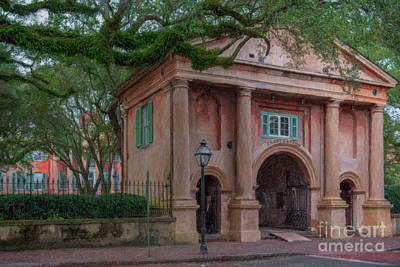 Vesna Antic Abstract Paintings - Porters Lodge - College of Charleston  by Dale Powell
