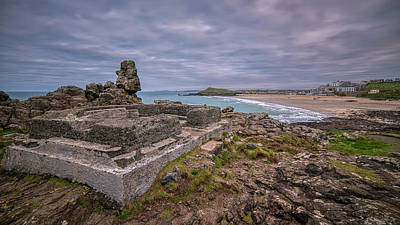 Photograph - Porthmeor Beach January View by Eddy Kinol