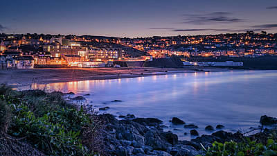 Photograph - Porthmeor - Long Exposure by Eddy Kinol
