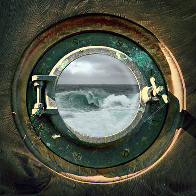 Photograph - Porthole View by Micki Findlay