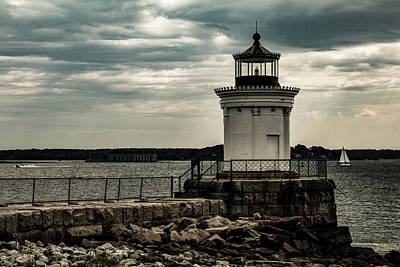 Photograph - Portland Breakwater Lighthouse Maine by Jeff Folger