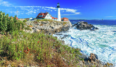 Photograph - Portland Maine Head Light by Dan Sproul