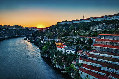 Photograph - Porto Sunrise - Portugal by Stuart Litoff