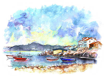 Painting - Portocubelo In Galicia 02 by Miki De Goodaboom