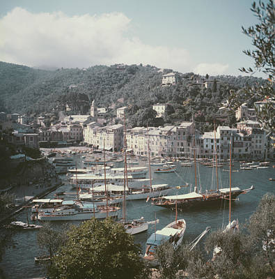 Object Photograph - Portofino by Slim Aarons