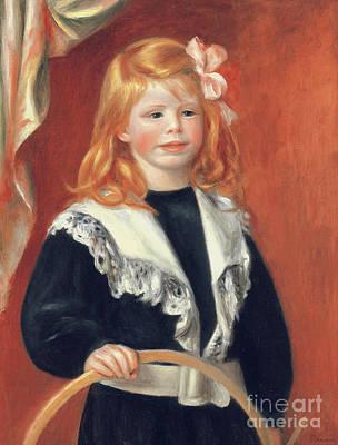 Painting - Portrait De Jean Renoir by Pierre Auguste Renoir