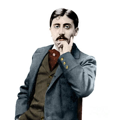 Photograph - Portrait De Marcel Proust by French School