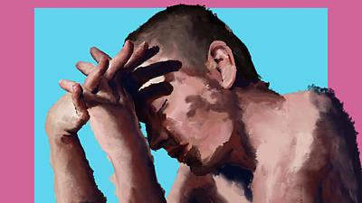 Digital Art - Portrait Of A Friend #2 by Luke Blevins