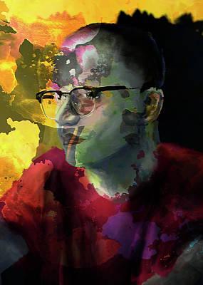 Digital Art - Portrait Of A Friend by Luke Blevins