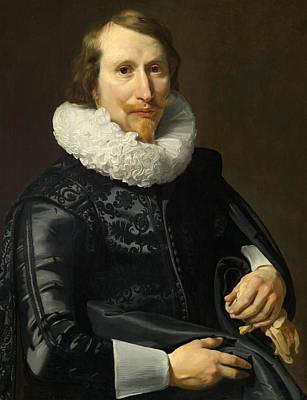 Painting - Portrait Of A Gentleman by Thomas de Keyser