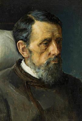 Painting - Portrait Of A Man by Ivan Kramskoy