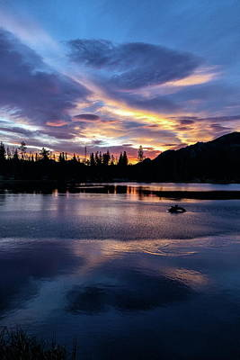 Photograph - Portrait Of A Rocky Mountain Sunrise by Tony Hake