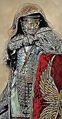 Painting - Portrait Of A Roman Legionary - 38 by Andrea Mazzocchetti