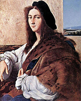 Painting - Portrait Of A Young Man by Raphael