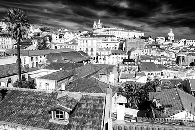 Photograph - Portrait Of Alfama Lisbon by John Rizzuto