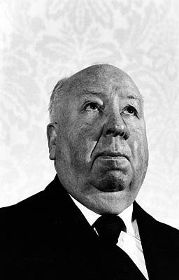 Photograph - Portrait Of Alfred Hitchcock by Fred W. Mcdarrah