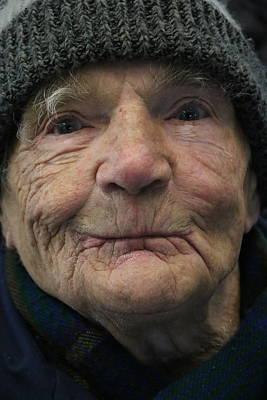 Photograph - Portrait Of An Elder Man by The Art Of Marilyn Ridoutt-Greene