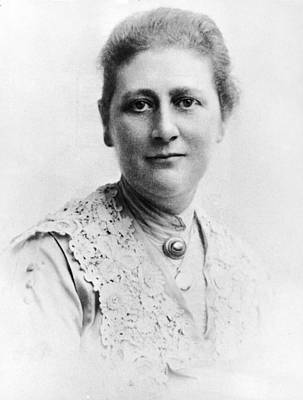 Portrait Of Author Beatrix Potter Art Print by Express Newspapers