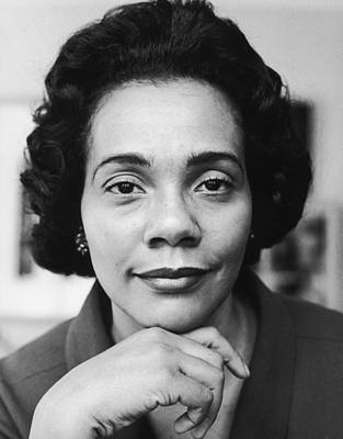Photograph - Portrait Of Coretta Scott King by Time & Life Pictures