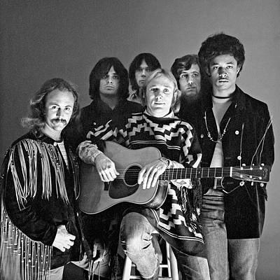 Neil Young Wall Art - Photograph - Portrait Of Crosby, Stills, Nash, & by Jack Robinson