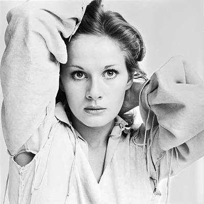 Photograph - Portrait Of Dominique Sanda by Jack Robinson