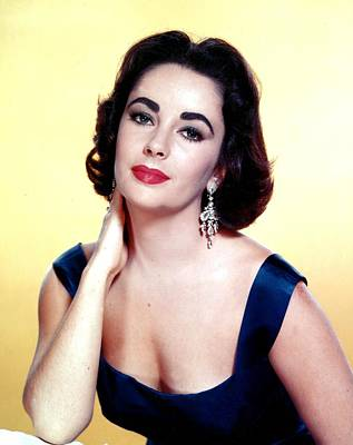 Photograph - Portrait Of Elizabeth Taylor In The by Api