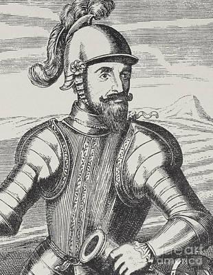 Drawing - Portrait Of Gabriel De Rojas, General Of The Artillery by Spanish School