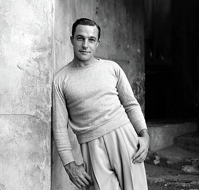 Photograph - Portrait Of Gene Kelly by Alfred Eisenstaedt