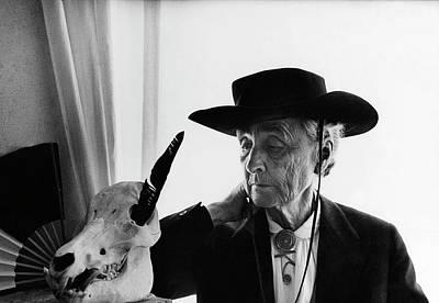 Photograph - Portrait Of Georgia Okeeffe by Cecil Beaton