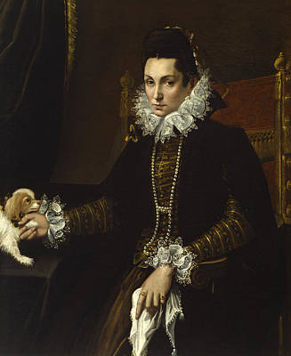 Painting - Portrait Of Ginevra Aldrovandi Hercolani by Lavinia Fontana