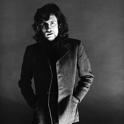 Photograph - Portrait Of Graham Nash by Jack Robinson