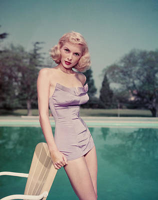 Photograph - Portrait Of Janet Leigh by Pictorial Parade