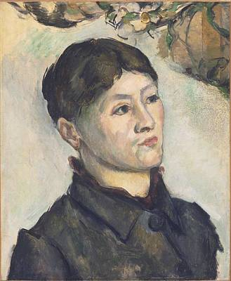 Advertising Archives - Portrait of Madame Cezanne 1885 87 by Paul Cezanne Paintings
