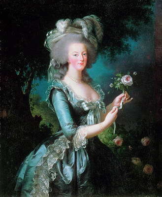 Painting - Portrait Of Marie Antoinette By Marie by Fine Art Images
